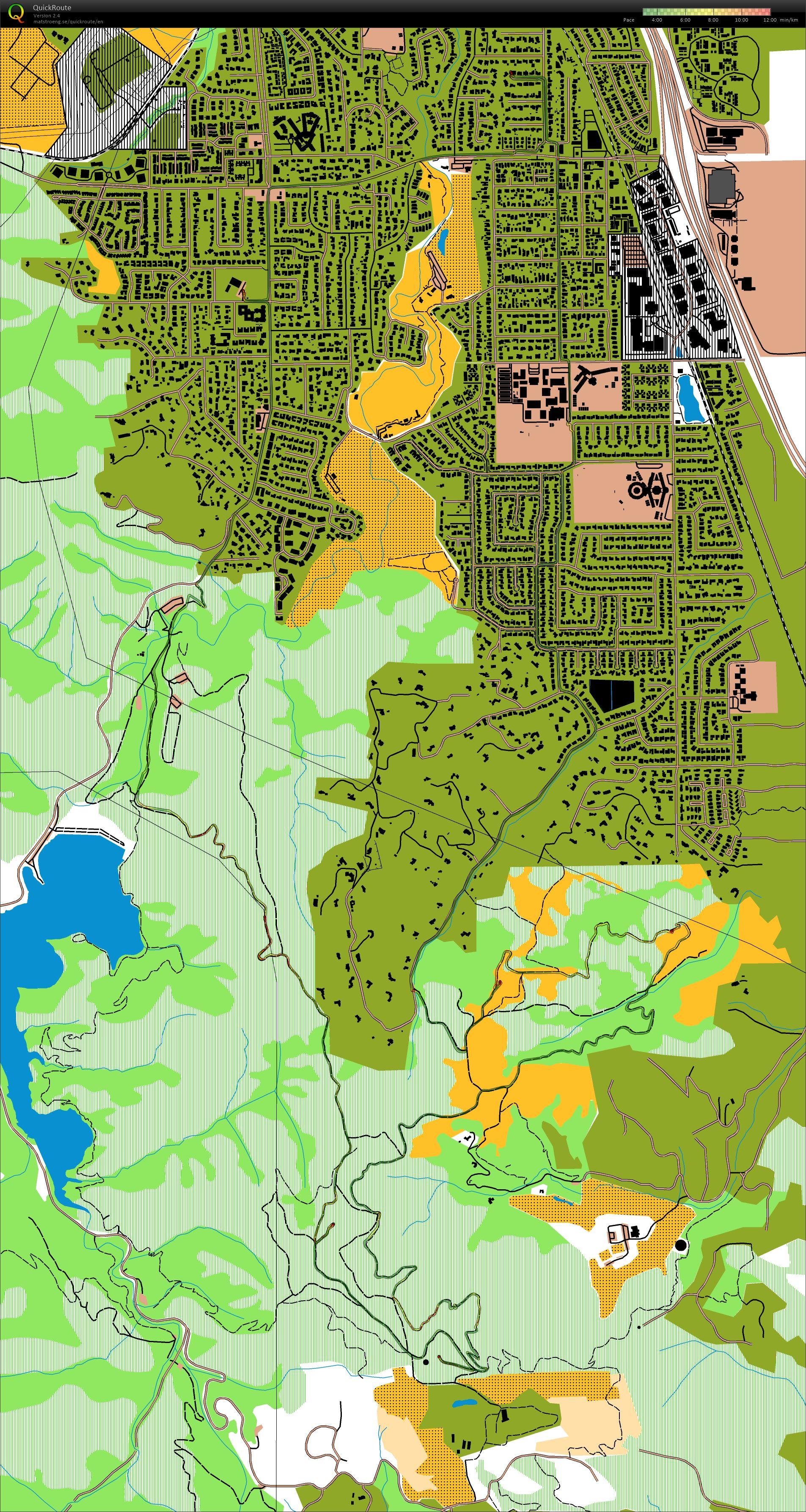 My digital orienteering map archive :: MTB ride with Scott & Matt in