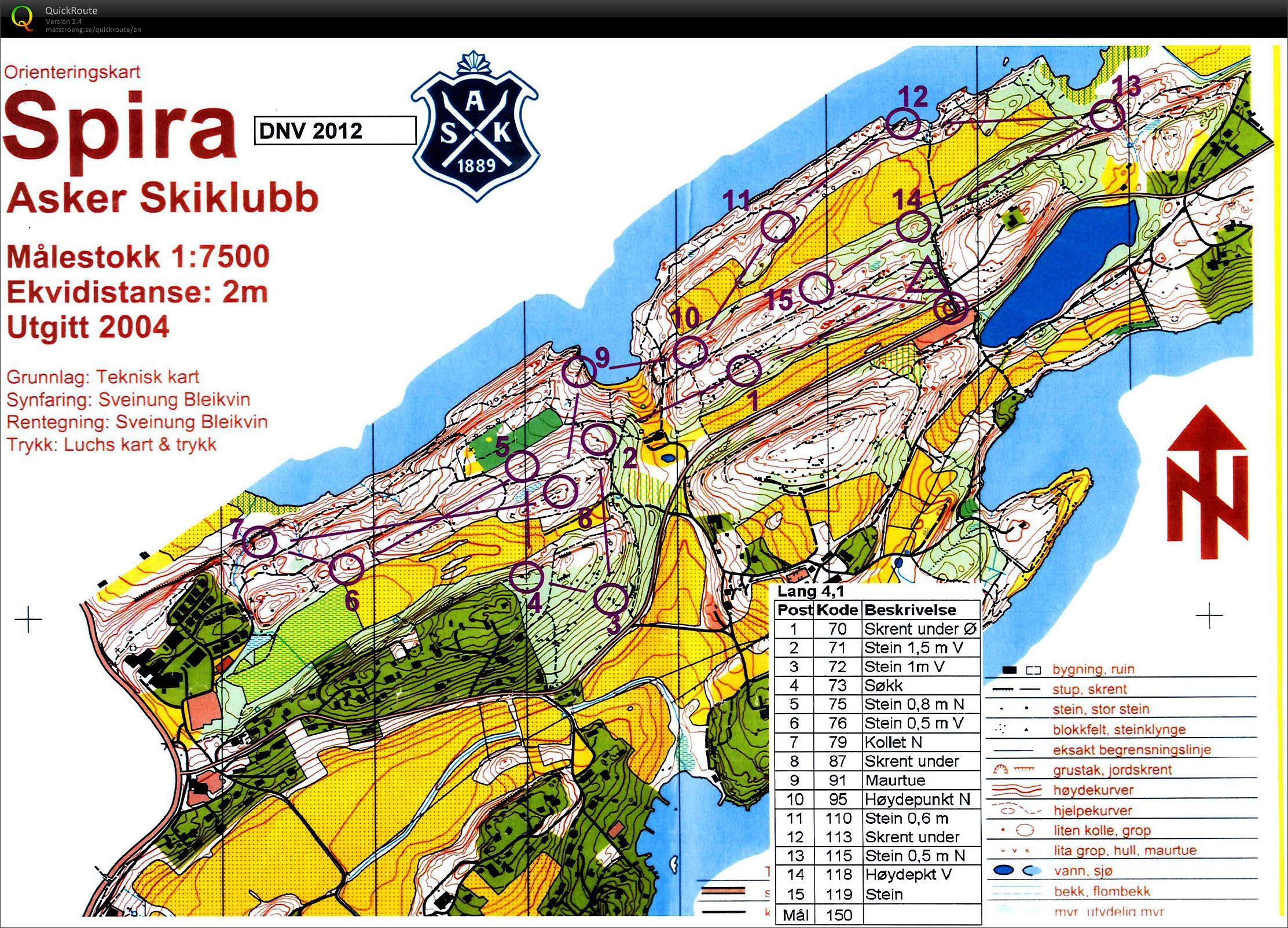 konglungen kart Nattløp Konglungen   November 21st 2012   Orienteering Map from  konglungen kart