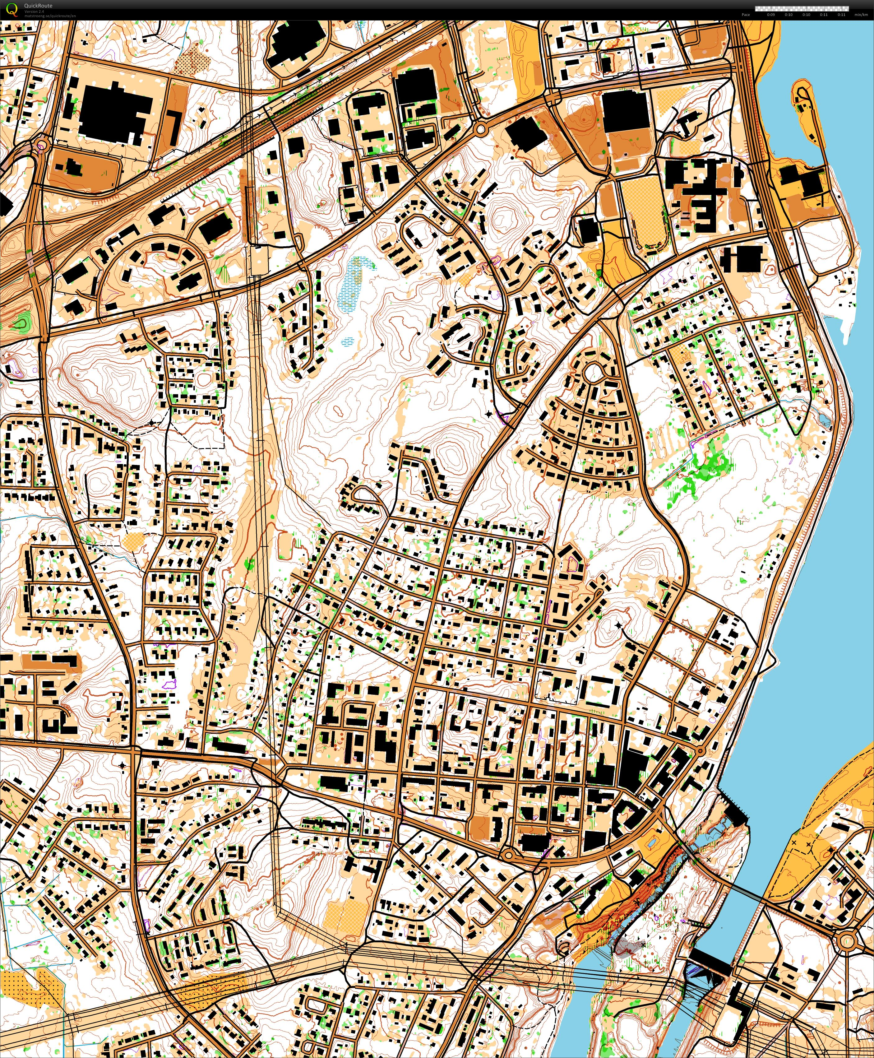 My digital orienteering map archive Test map for Imatra world cup