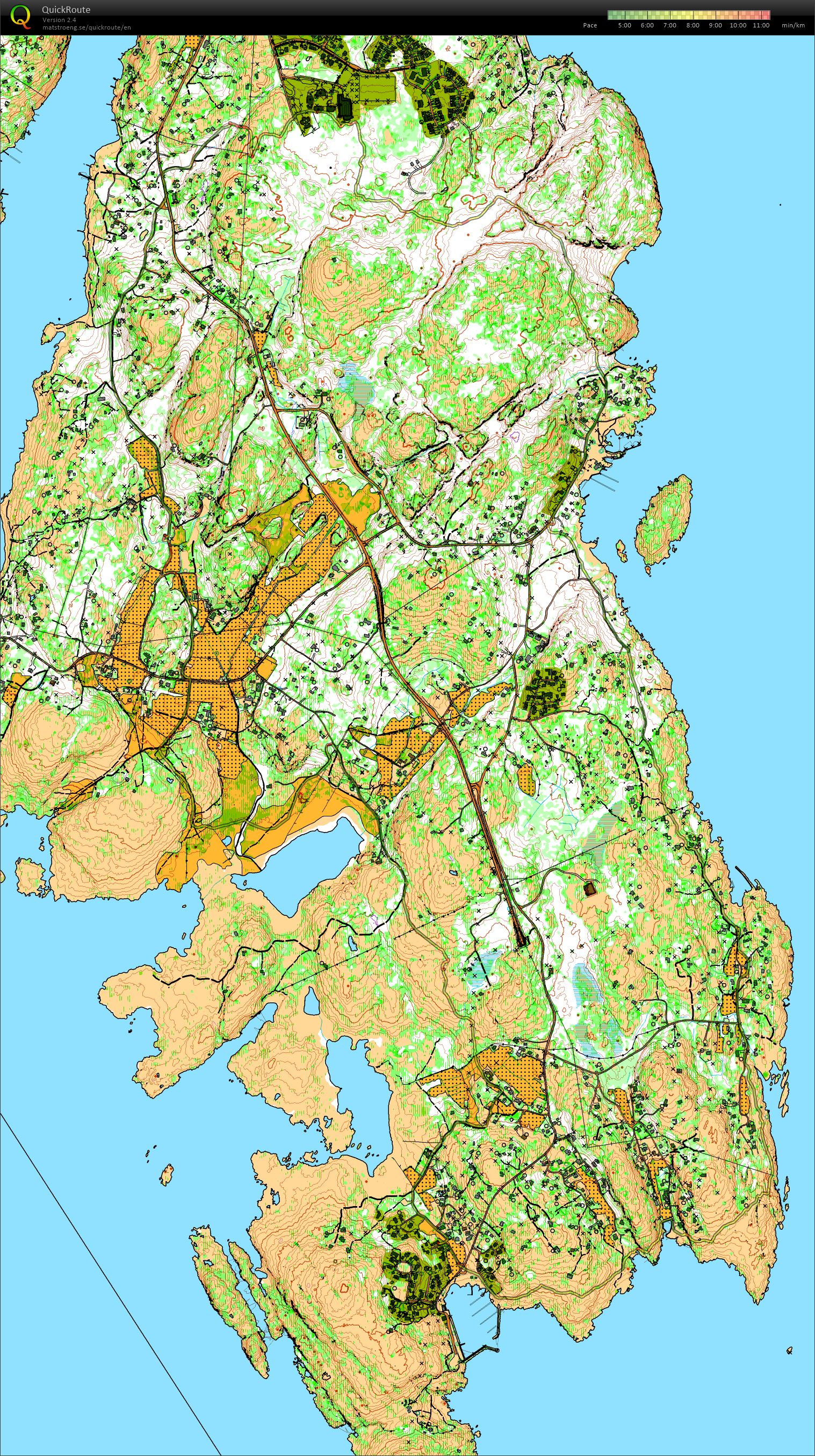 Long Slow Distance with Fredrik (02/08/2015)
