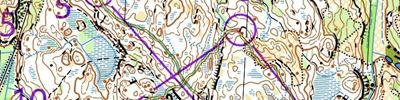 WOC Test race - D21 Norway course (07/07/2019)
